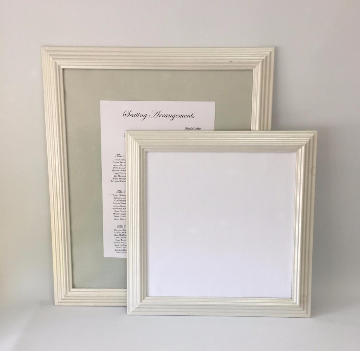 Modern wood frames for square Instagram prints  Tiny