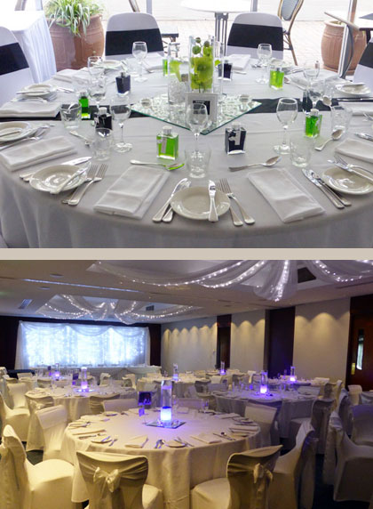 We will style & decorate your wedding reception for a truly memorable occasion